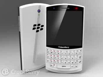 A concept model of the first BlackBerry 10 model