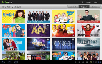 "Hulu Plus for Android gets updated, support for 7"" tablets"