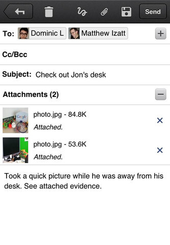 Gmail app for iOS finally gets push notifications, persistent logins