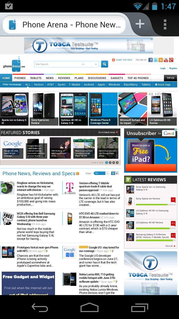 Firefox for Android Review - PhoneArena