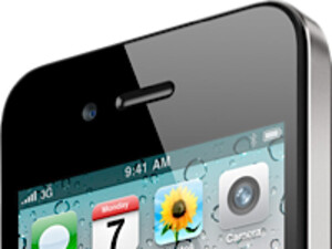 The ambient light sensor on the Apple iPhone