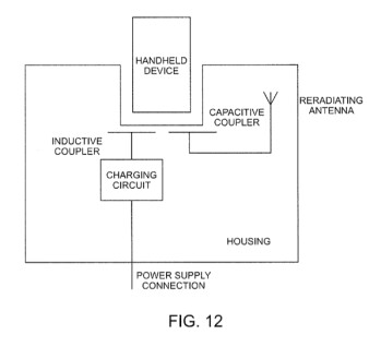 Apple received a patent for a docking system with inductive charger and antennas