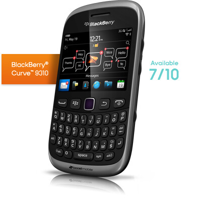 Boost Mobile intros unlimited BBM plan + $99 BlackBerry