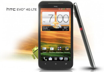 The high-end HTC EVO 4G LTE