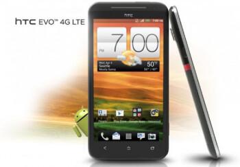 The high-end HTC EVO 4G LTE