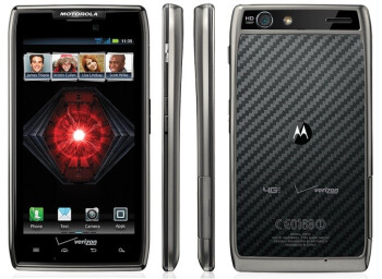 Verizon's top Android model the Motorola DROID RAZR MAXX