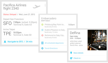 Google Now is your know-it-all personal concierge in Android 4.1 Jelly Bean