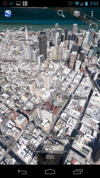 Google Earth 7.0 comes to Android, 3D maps in tow