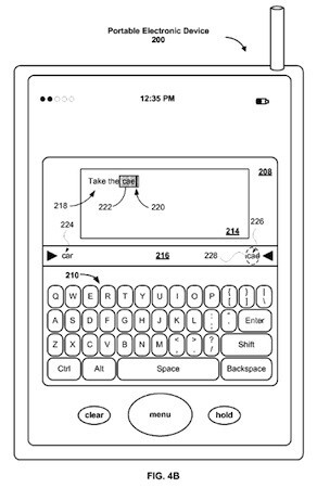 In February, Apple accused Samsung of infringing on its autocorrect patent - Apple to figure out your typing speed to improve autocorrect