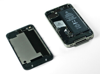 The battery inside the Apple iPhone