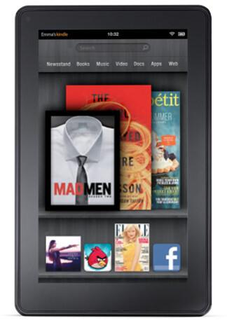 The Amazon Kindle Fire is the Google Nexus 7's target