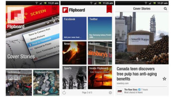 Google Current has competition from Flipboard