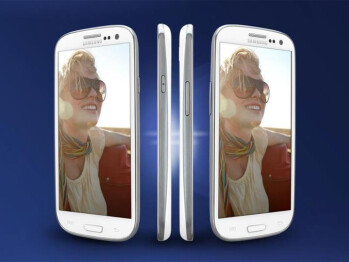 The Samsung Galaxy S III is now in Sprint's stores