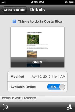 Google Drive - iOS - Free
