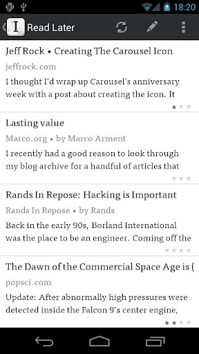 Instapaper - Android - Free
