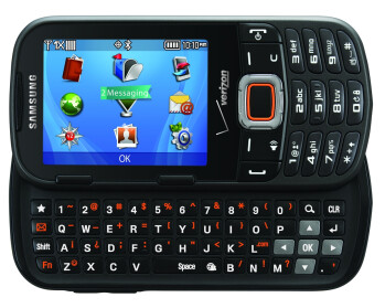 The Samsung Intensity III for Verizon
