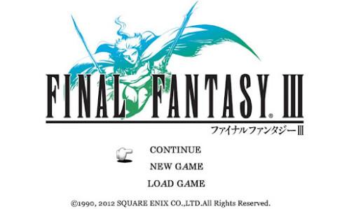 Final Fantasy III is now on Google Play