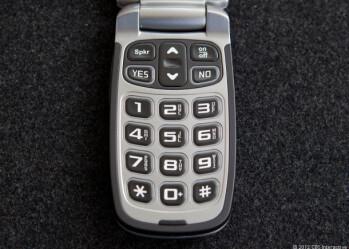 The still oversized keys on the Jitterbug Plus