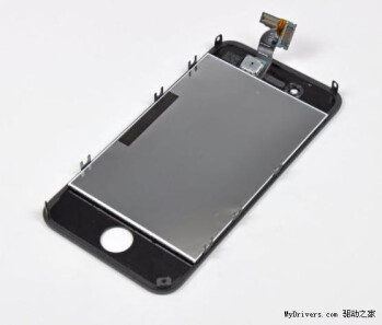 Alleged front panel of the iPhone 5 leaks again, 30  larger screen with in-cell touch layer to be used