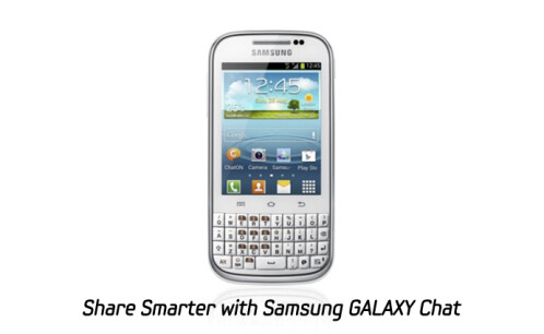 Samsung Galaxy Chat photos
