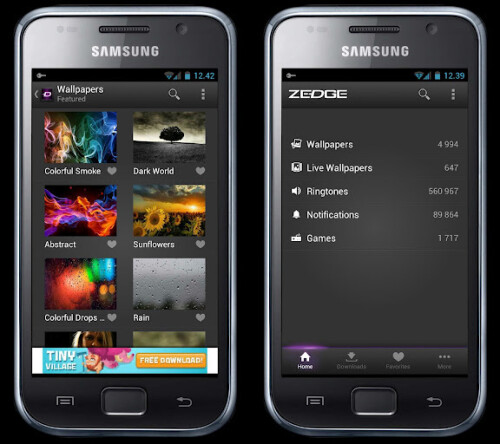 Customize with Zedge