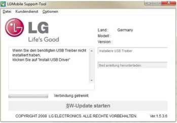 You will need the LG Phone Support tool (L) to download ICS on to your LG Prada 3.0