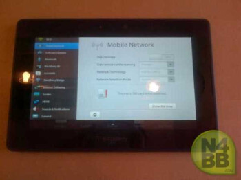The BlackBerry PlayBook 4G