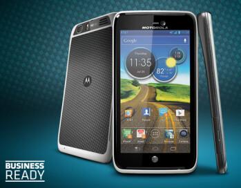 The Motorola ATRIX HD is now on Moto's website