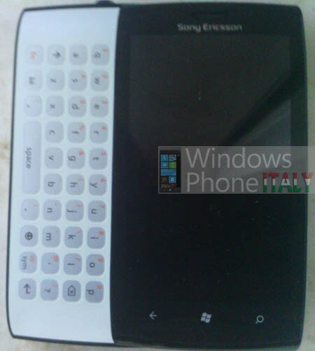 Sony Ericsson Windows Phone prototype