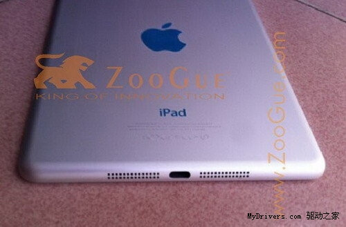 The iPad Mini might have a high pixel density display after all, purported chassis photos leak