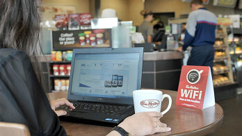 More than 2,000 Tim Hortons units in Canada will offer free Wi-Fi to customers