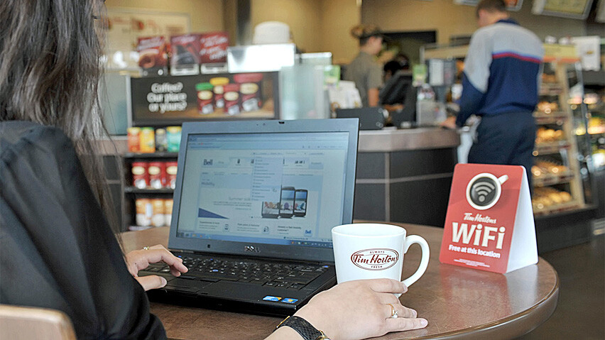 More than 2,000 Tim Hortons units in Canada will offer free Wi-Fi to customers - 90% of Tim Hortons Canadian locations to have free Wi-Fi by September