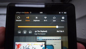 Screen settings for the Amazon Kindle Fire