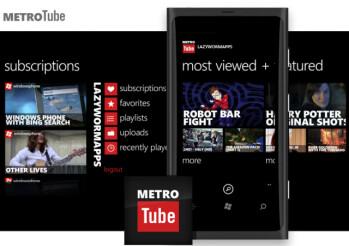 METROTube for Windows Phone