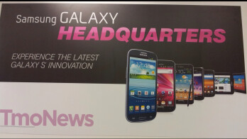 Samsung Galaxy Note appears on a T-Mobile poster, launch seems imminent