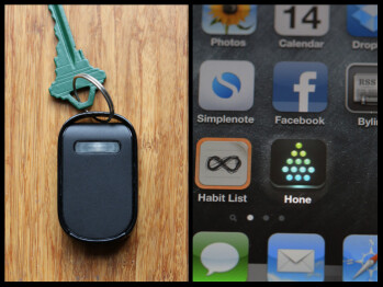 The Hone for iPhone keeps your keys from straying too far from your side
