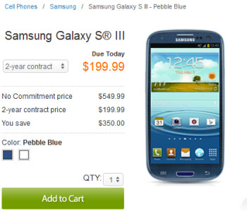 AT&T's variant of the Samsung Galaxy S III has launched
