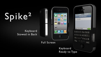 The three versions of the Spike keyboard