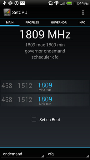 Overclocking the HTC One X to 1.8GHz