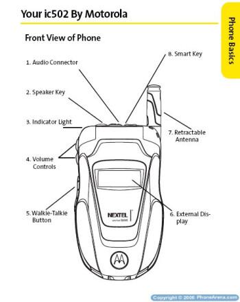 Sprint Nextel launches first dual-mode Motorola ic502 iDEN-CDMA phone
