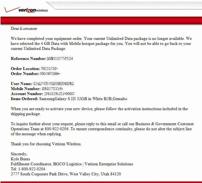 verizon lost iphone if your verizon unlimited plan was incorrectly changed 13237