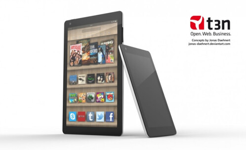 Concept for a new Amazon Kindle Fire