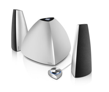 Edifier's Prisma Bluetooth Speaker System packs a punch while donning a modern design