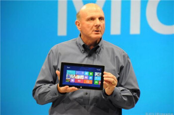 Microsoft CEO Steve Ballmer and the Surface Tablet