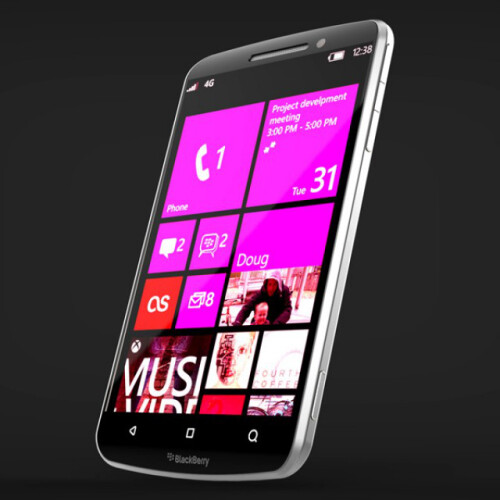 BlackBerry Windows Phone concept images