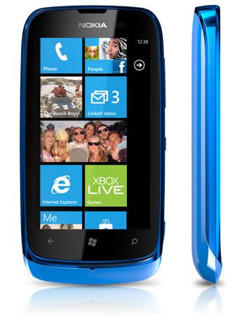 The Nokia Lumia 610