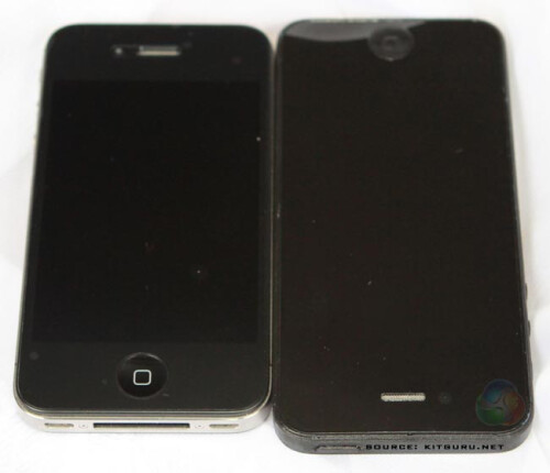 Another comparison between last year's and this year's iPhone