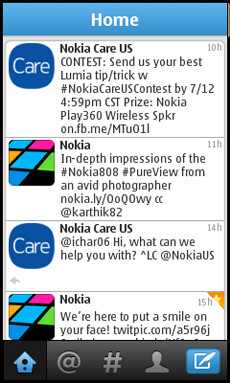 All new Twitter app arrives to Nokia Series 40 devices