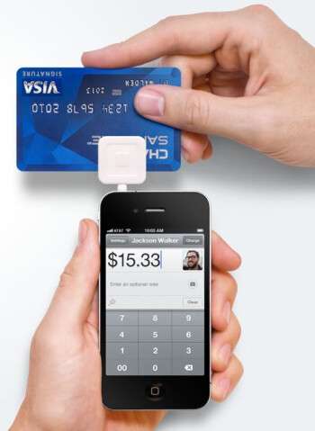 Juniper mentions Square as one of the new mobile firms challenging established players
