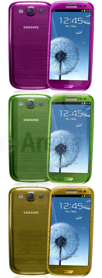 Samsung hints that Garnet Red won't be the only new paint job for the S3